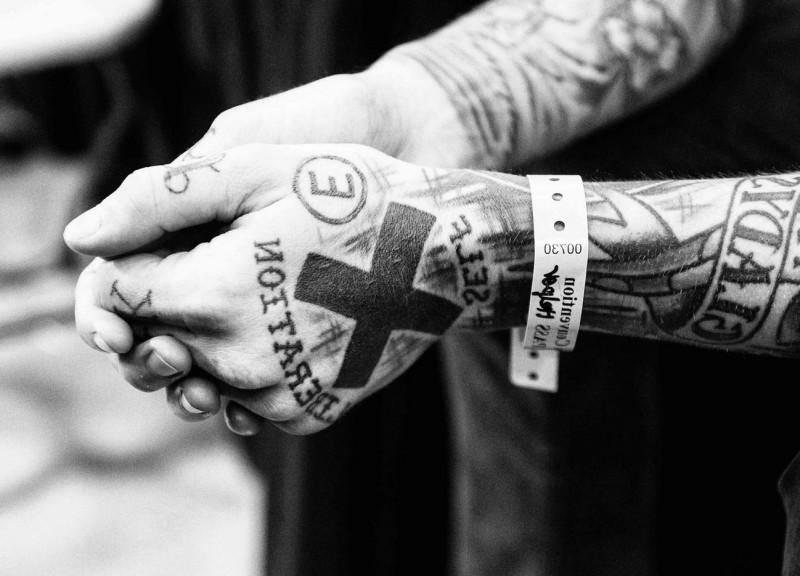 tatuaje straight edge